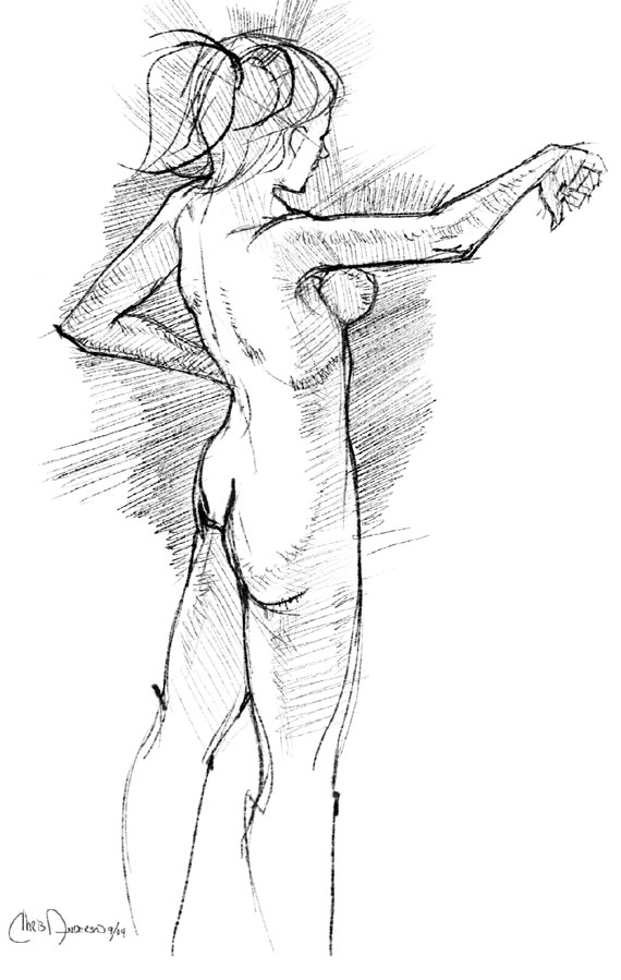 Figure Drawing From The Mind, Thread